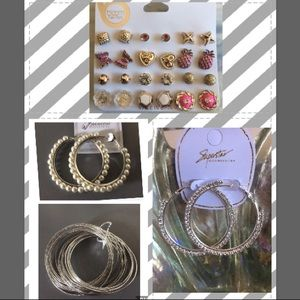 ❗️Wholesale Firm❗️Lot of Earrings & Bracelet